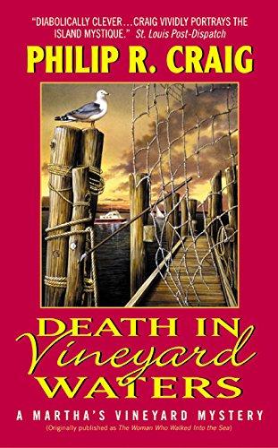 9780060542894: Death in Vineyard Waters (Martha's Vineyard Mysteries (Avon Books))