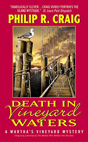 9780060542894: Death in Vineyard Waters : A Martha's Vineyard Mystery