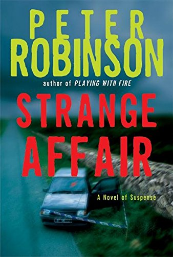 Strange Affair ***SIGNED***: Peter Robinson