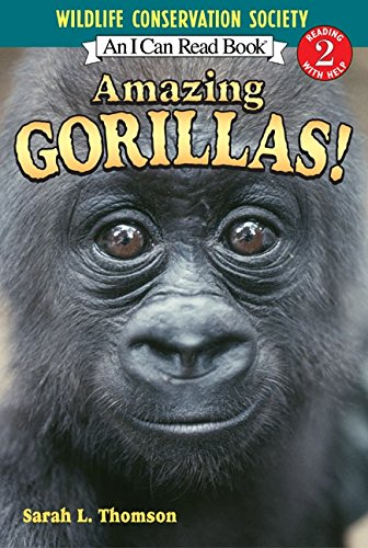 9780060544591: Amazing Gorillas! (I Can Read (Reading With Help,2))