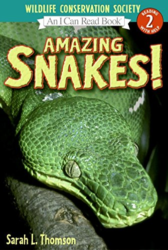 9780060544621: Amazing Snakes! (I Can Read - Level 3 (Quality))