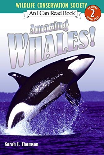 9780060544676: Amazing Whales! (I Can Read Level 2)
