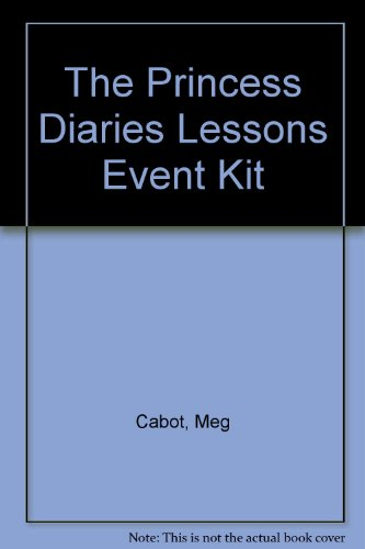 9780060544836: The Princess Diaries Lessons Event Kit