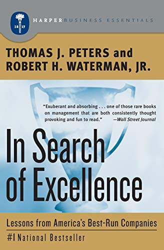 9781781253403 in search of excellence lessons from americas 9780060548780 in search of excellence lessons from americas best run companies collins publicscrutiny