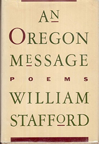 9780060550936: An Oregon message