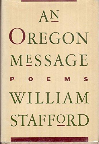 An Oregon Message: Stafford, William Edgar