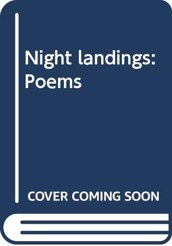 9780060551476: Night landings: Poems