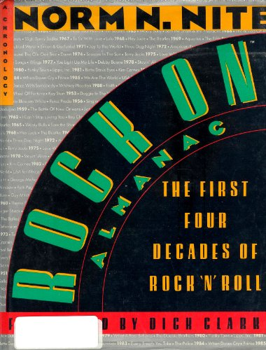 9780060551667: Rock on Almanac: The First Four Decades of Rock 'N' Roll : A Chronology