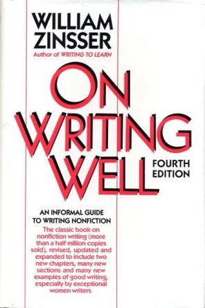 9780060552725: On writing well: An informal guide to writing nonfiction