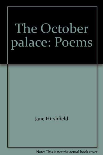 9780060553487: The October palace: Poems