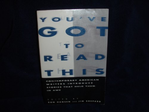 9780060553586: You'Ve Got to Read This