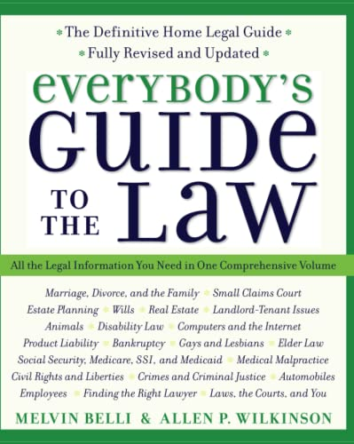 9780060554330: Everybody's Guide to the Law, Fully Revised & Updated, 2nd Edition: All The Legal Information You Need in One Comprehensive Volume (Harperresource Book)