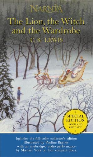 9780060556495: The Lion, the Witch and the Wardrobe: Book and CD boxed set (The Chronicles of Narnia, Book 2)