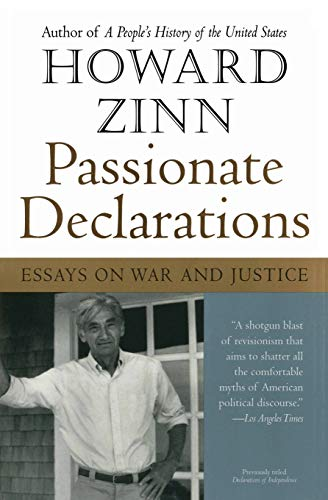 9780060557676: Passionate Declarations: Essays on War and Justice