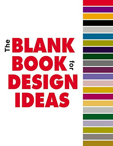 9780060558109: Blank Book for Design Ideas