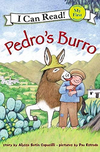 9780060560331: Pedro's Burro (My First I Can Read - Level Pre1 (Quality))