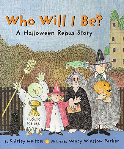 9780060560676: Who Will I Be?: A Halloween Rebus Story