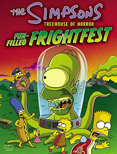 9780060560706: The Simpsons: Treehouse of Horror: Fun-Filled Frightfest (Simpsons Books)