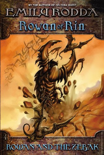 9780060560744: Rowan and the Zebak (Rowan of Rin, 4)