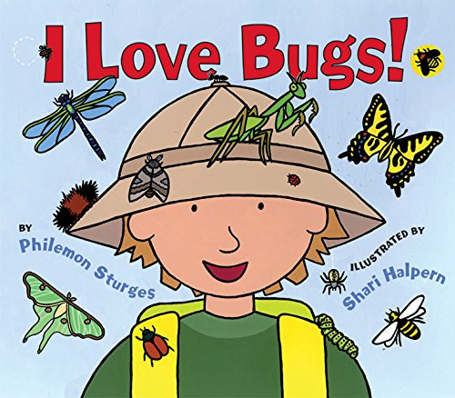 9780060561680: I Love Bugs!