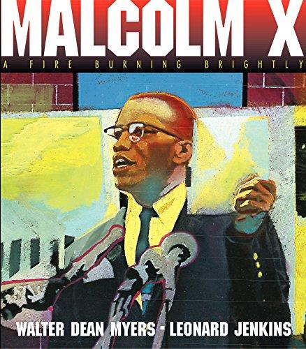 9780060562014: Malcolm X: A Fire Burning Brightly