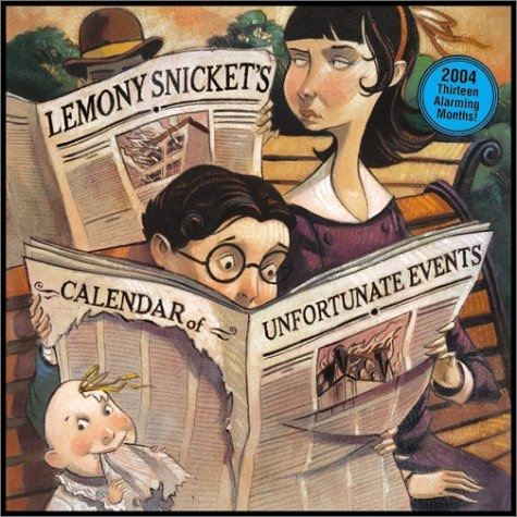 9780060562267: Lemony Snicket's 2004 Calendar of Unfortunate Events