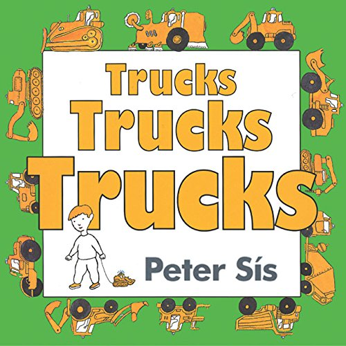 9780060562588: Trucks Trucks Trucks Board Book