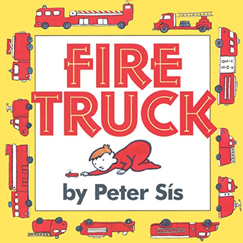 9780060562595: Fire Truck Board Book