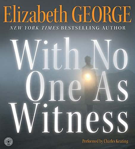 9780060563301: With No One as Witness CD: With No One as Witness CD (Thomas Lynley and Barbara Havers Novels)