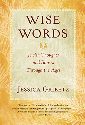 9780060566937: Wise Words: Jewish Thoughts and Stories Through the Ages