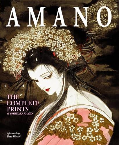 9780060567637: Amano: The Complete Prints of Yoshitaka Amano