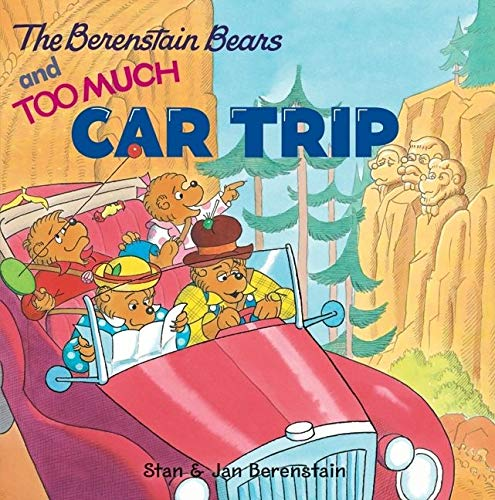 9780060573843: The Berenstain Bears and Too Much Car Trip [With Bingo Game]