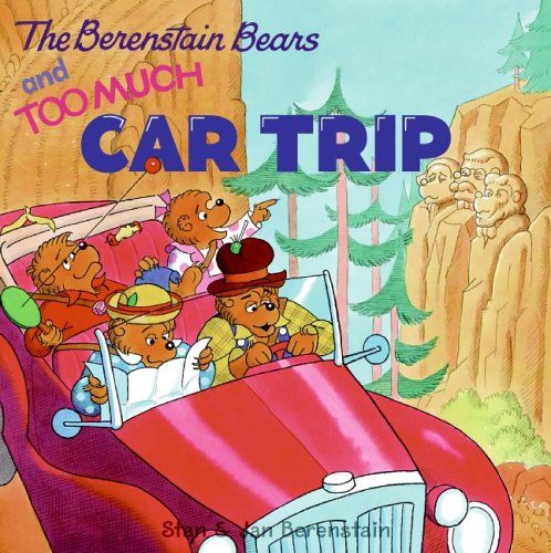9780060574000: The Berenstain Bears and Too Much Car Trip (Berenstain Bears (Harper Hardcover))