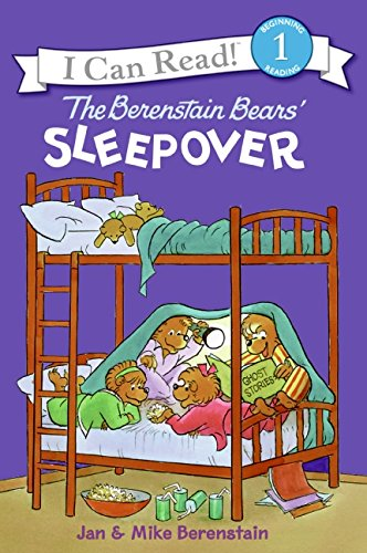 9780060574154: The Berenstain Bears' Sleepover (I Can Read Level 1)