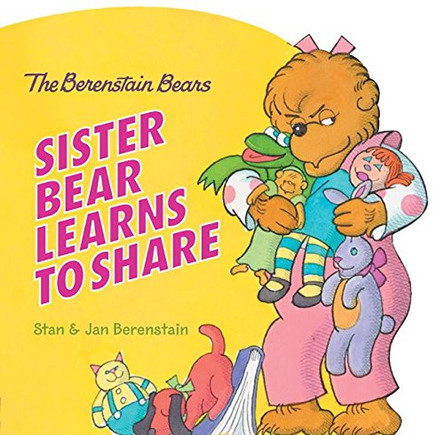 9780060574246: Sister Bear Learns to Share (Berenstain Bears Shaped Board Books)