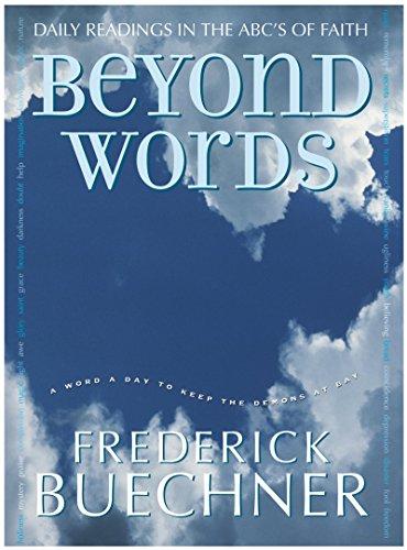 9780060574468: Beyond Words (Buechner, Frederick)