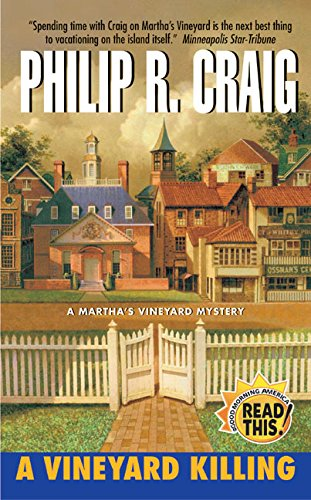 9780060575274: A Vineyard Killing (A Martha's Vineyard Mystery)