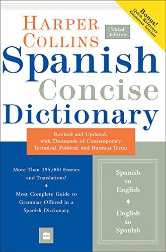 9780060575786: Harpercollins Spanish Dictionary: Plus Grammar
