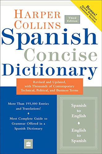 9780060575786: Collins Spanish Concise Dictionary, 3e (HarperCollins Concise Dictionaries) (Spanish and English Edition)
