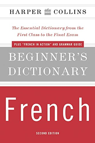 9780060575793: HarperCollins Beginner's French Dictionary, 2e