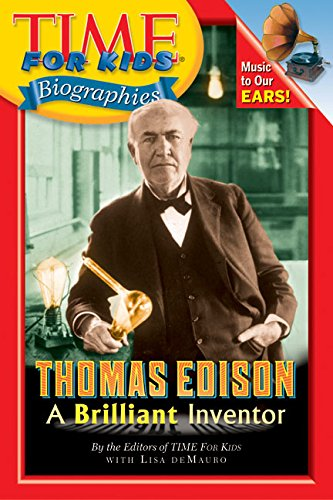 9780060576110: Thomas Edison: A Brilliant Inventor (Time for Kids Biographies)