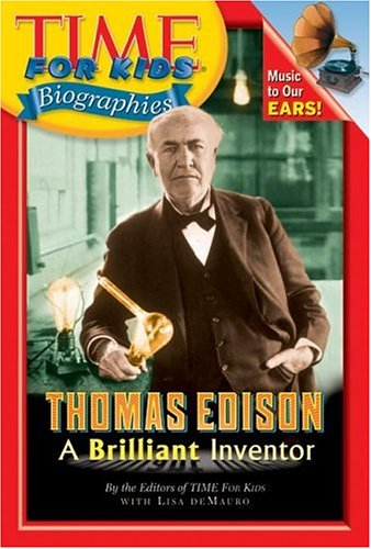 9780060576127: Thomas Edison: A Brilliant Inventor (Time for Kids Biographies)