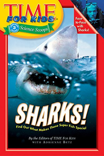9780060576325: Time for Kids: Sharks! (Time for Kids Science Scoops)