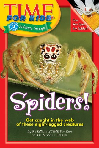 9780060576349: Time For Kids: Spiders! (Time for Kids Science Scoops)