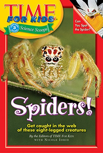 9780060576356: Time For Kids: Spiders! (Time for Kids Science Scoops)