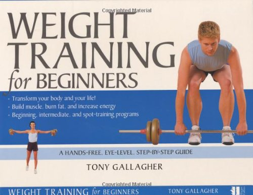 9780060576554: Weight Training for Beginners