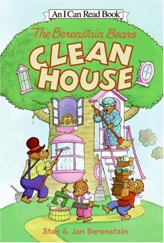 9780060583347: The Berenstain Bears Clean House (I Can Read Book 1)