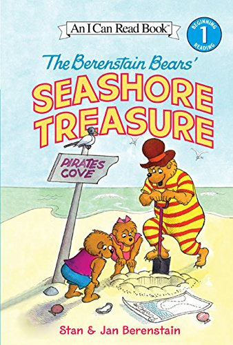 9780060583408: The Berenstain Bears' Seashore Treasure (I Can Read Books: Level 1)