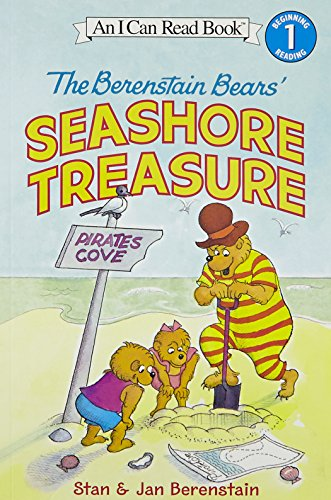 9780060583415: The Berenstain Bears' Seashore Treasure [With Stickers]: Beginning Reading 1 (I Can Read Level 1)