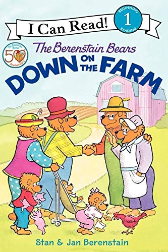 9780060583514: The Berenstain Bears Down on the Farm (I Can Read Level 1)